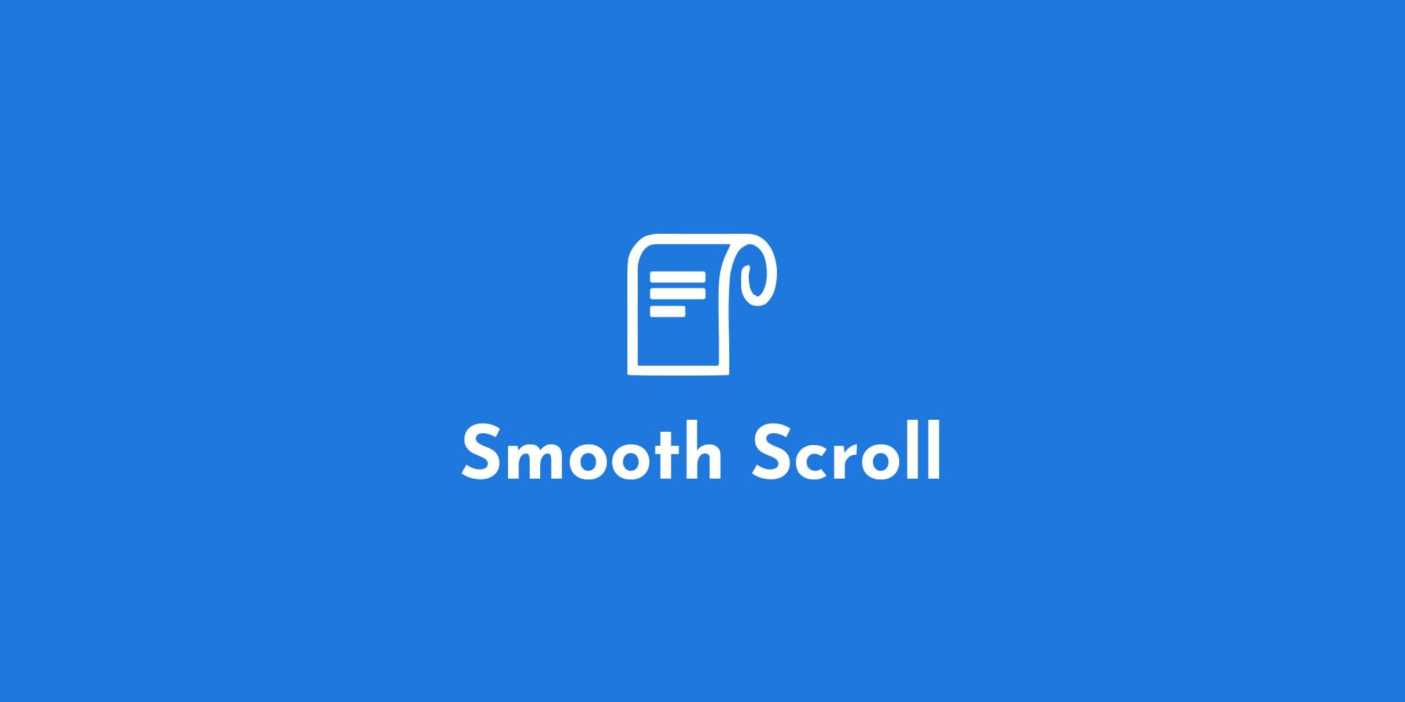 Smooth Scroll
